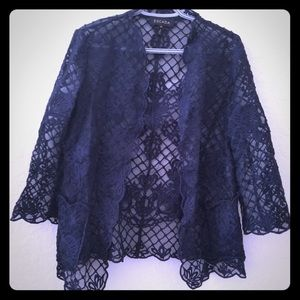 Escada lace blazer evening style